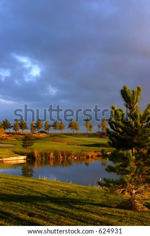 Sunrise over the Golf Course in the Valley