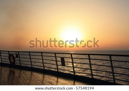 Cruise Ship Deck Stock Images Royalty Free Images