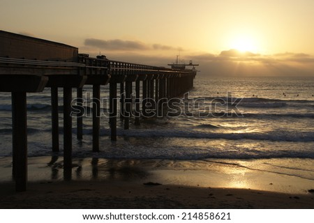 Sunset at the Pier