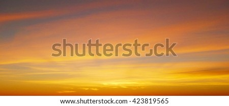 Sunset background
