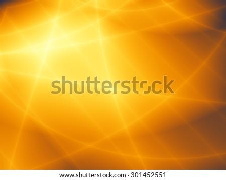 Sunset golden elegant pattern abstract web background - stock photo