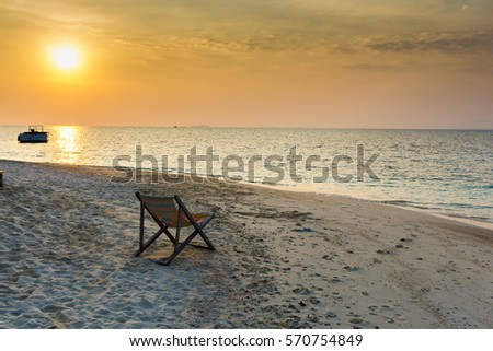 Sunset of Koh Munnork (Thailand)