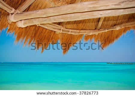 Sunshade - stock photo