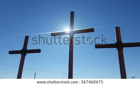 Sunshine and the cross