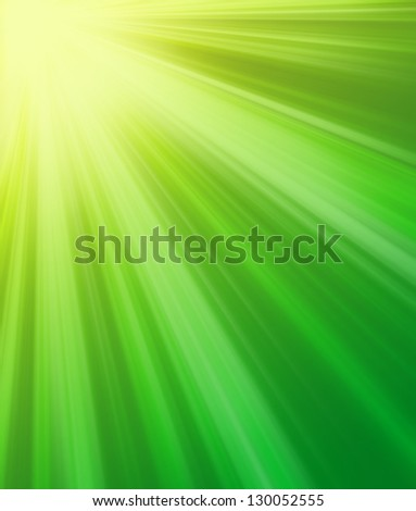 Sunshine as abstract light background - stock photo