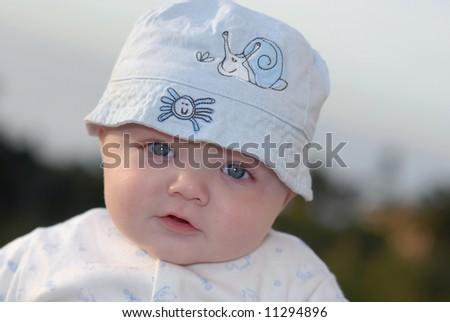 sunshine baby - stock photo
