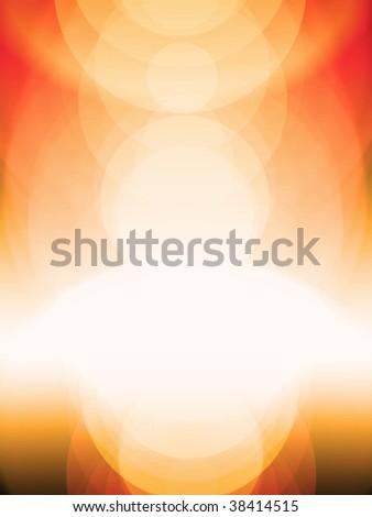 Sunshine background - stock photo