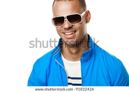 Super Cool Beach babe - stock photo