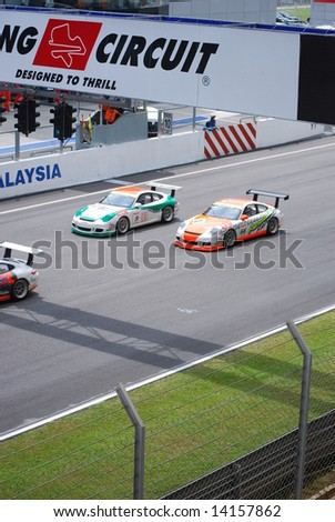 SUPER GT SERIES 2008  MALAYSIA on 22nd June 2008
