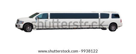 super long sports utility vehicle limo