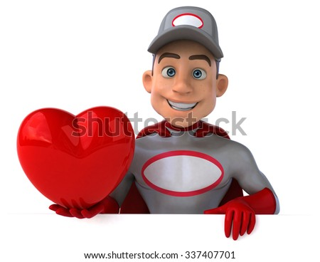 Super mechanic - stock photo