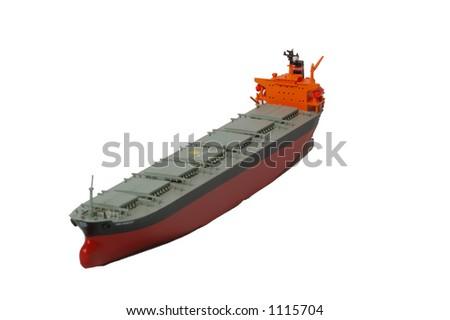 Super Tanker - stock photo