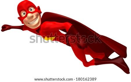 Superhero - stock photo
