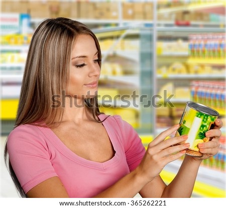 Supermarket. - stock photo