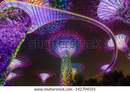 Garden By The Bay Night gardensthe bay stock images, royalty-free images & vectors