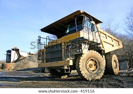 Supertruck - stock photo