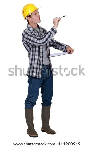 Supervisor - stock photo