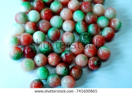 supplement a good fortune and opulence by thee colorful hok lok siew jade bracelet amulet fu-lu-shou luck