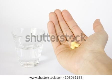 Supplement Pills - stock photo