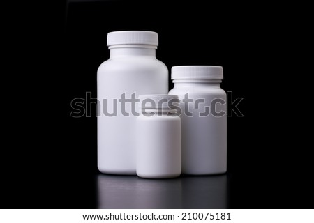 Supplements - stock photo