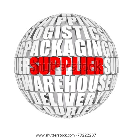 supplier - stock photo