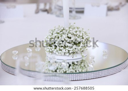 support of a wedding candlestick