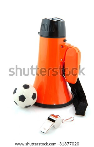Supporting the Dutch soccer with the championship - stock photo
