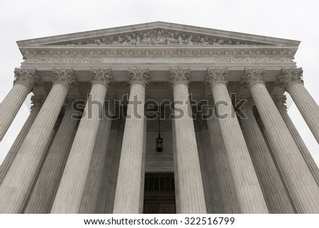 Supreme Court - stock photo