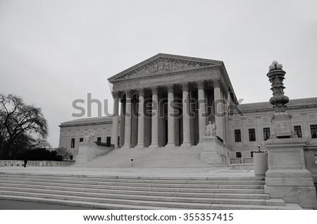 Supreme Court - stock photo