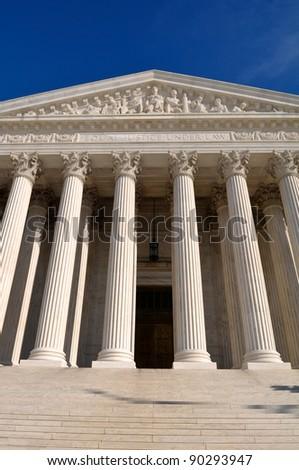 Supreme Court of United States - stock photo