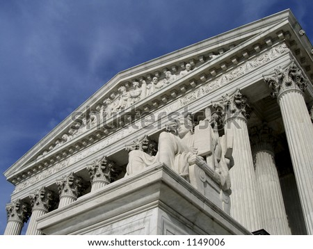 supreme court, wide angle
