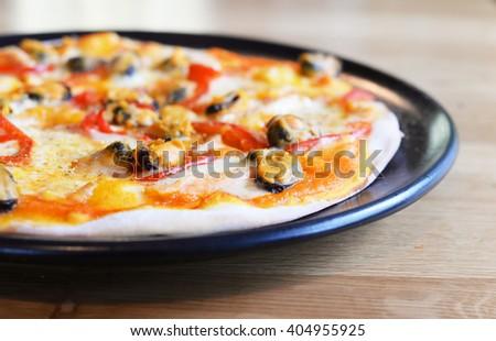 Supreme Pizza - stock photo