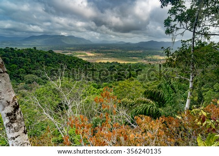 Surama mountain view - Views around Guyana's Interior and rainforest