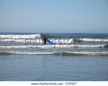 surf - stock photo