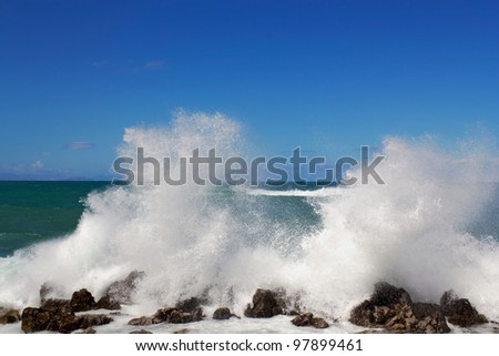 Surf - stock photo