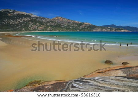 surf beach - stock photo