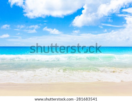 Surf Beach Sea  - stock photo
