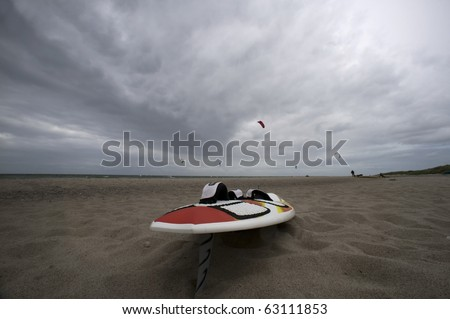 surf board - stock photo