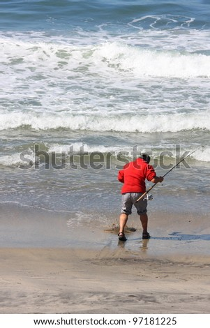 Larry b king 39 s portfolio on shutterstock for Surf fishing san diego