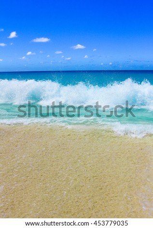 Surf Tide Storm  - stock photo