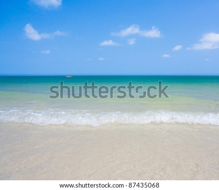Surf Waves - stock photo
