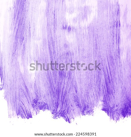 Surface covered with a thin layer of an oil paint brush strokes as a background composition - stock photo