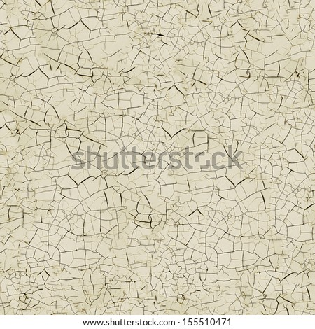 Surface cracks. Seamless texture - stock photo