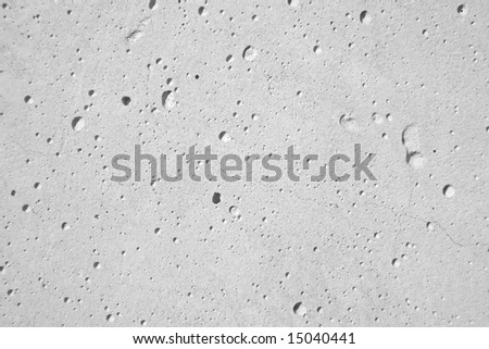 Surface of concrete - detailed texture - stock photo