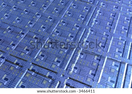 Surface of electronic circuit concept