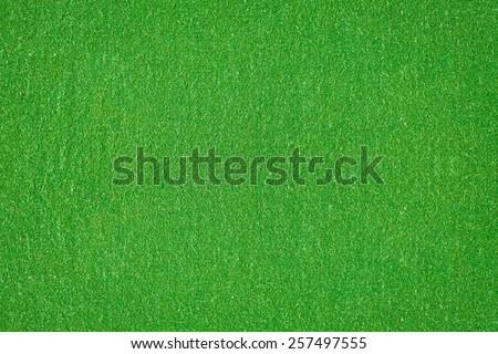 Surface of green velvet cover - stock photo