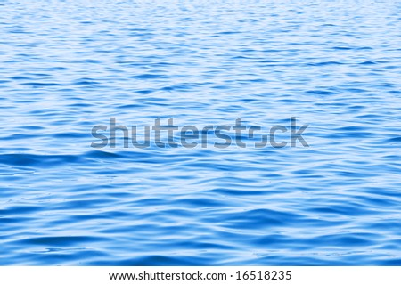 Surface of sea - can be used as background