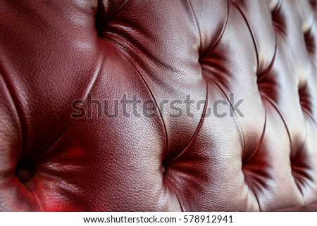 Surface of the artificial leather sofa, artificial leather texture background.
