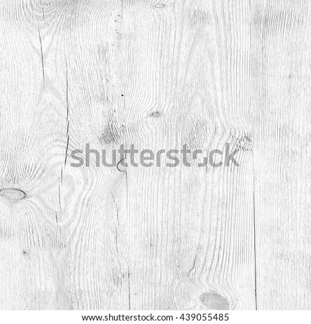Surface of white old painted wood - stock photo
