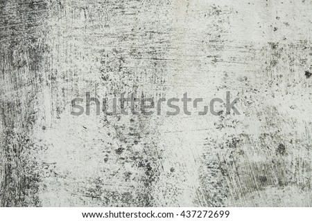 Surface of white walls are old, dirty, rough, black stains Filled with smudges of color decay. abstract background. - stock photo